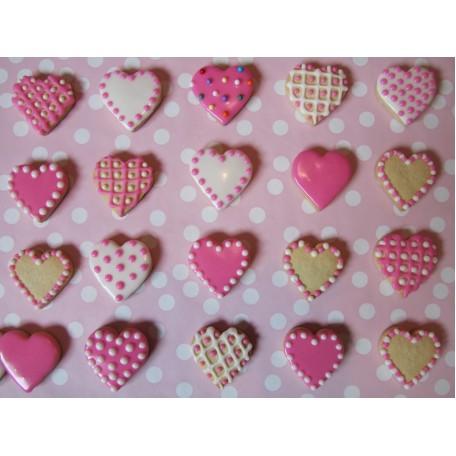 Galletas Corazón para San Valentín (20 unidades)