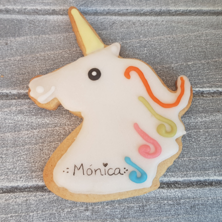 Galleta Cabeza de Unicornio