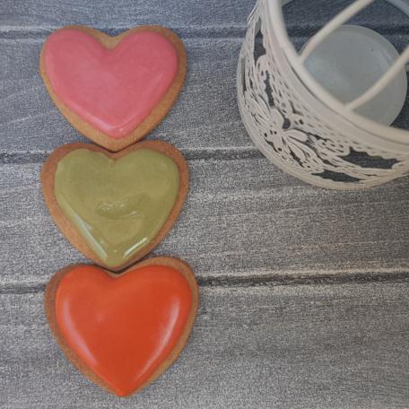 Galletas Detalle Corazón