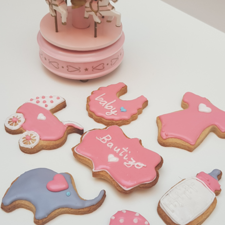 Galletas para bautizo o baby shower