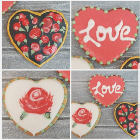 Galleta San Valentín
