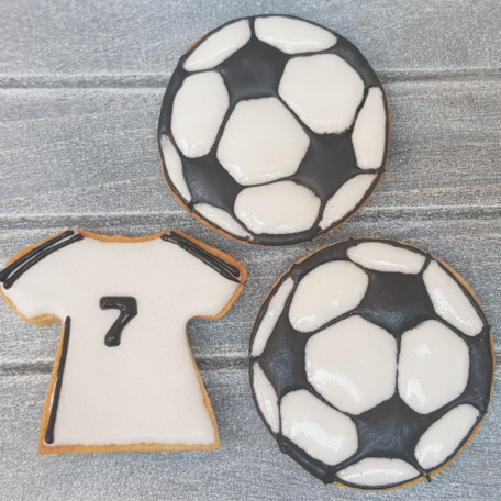 Galleta de temática fútbol