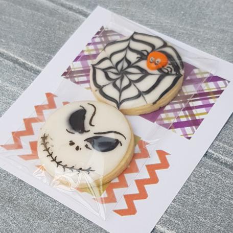Bolsa 2 galletas para Halloween